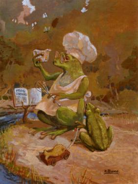 Frog Cookies by Dot Bunn