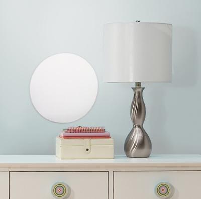 Dot/Circle Peel & Stick Mirror (Large)