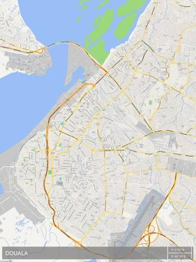 Douala, Cameroon Map