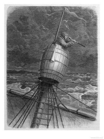 Look-Out Man from the Crow's- Nest During Wordenskjold's Arctic Expedition