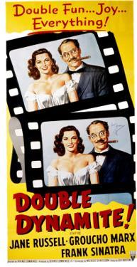 Double Dynamite, Jane Russell, Groucho Marx, 1951