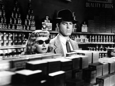 Double Indemnity, Barbara Stanwyck, Fred MacMurray, 1944