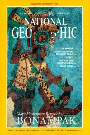 Cover of the February, 1995 National Geographic Magazine