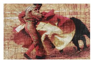 San Miguel, Bullfight No.1 by Doug Landreth