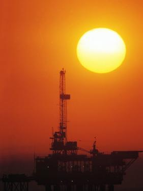 Offshore Oil Drilling by Doug Mazell