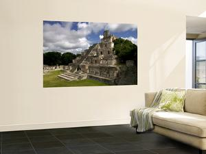 Ruins of Edificio De Cinco Pisos at Mayan Archaeological Site by Doug McKinlay