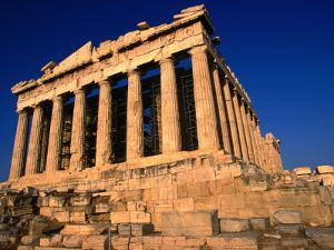 The Massive Doric Columns of the Parthenon, Athens, Attica, Greece by Doug McKinlay