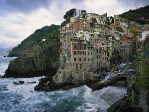Riomaggiore, Cinque Terre, Italy by Doug Page