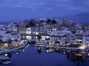 Agios Nikolaos, Lasithi Province, Crete, Greece by Doug Pearson