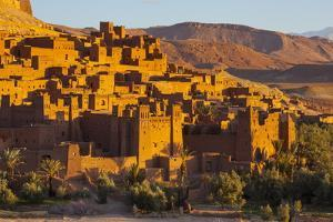 Ait Benhaddou, UNESCO World Heritage Site, Atlas Mountains, Morocco, North Africa, Africa by Doug Pearson