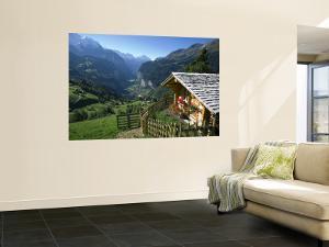 Alpine Cabin, Wengen and Lauterbrunnen Valley, Berner Oberland, Switzerland by Doug Pearson