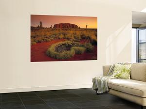 Ayers Rock, Northern Territory, Australia by Doug Pearson