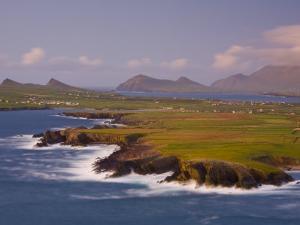 Ballyferriter Bay from Clougher Head, Dingle Peninsula, County Kerry, Munster, Ireland by Doug Pearson