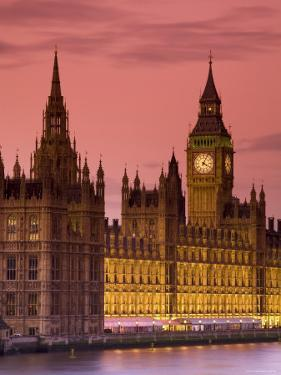 Big Ben and Houses of Parliament, London, England by Doug Pearson