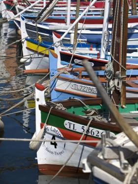Boats in Harbour, St.Tropez, Cote d'Azur, France by Doug Pearson
