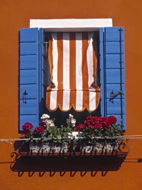 Burano, Venice, Veneto, Italy by Doug Pearson