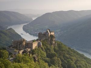 Burg Aggstein, Wachau, Lower Austria, Austria by Doug Pearson