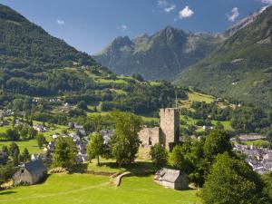 Castle, Luz-Saint-Sauveur, Midi-Pyrenees, France by Doug Pearson