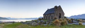 Church of the Good Shepherd, Lake Tekapo, Mackenzie Country, Canterbury, South Island, New Zealand by Doug Pearson