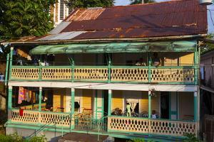 Colonial Architecture, Port Antonio, Jamaica, West Indies, Caribbean, Central America by Doug Pearson