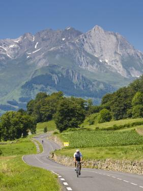 Cyclists, Grange Sous La Neige, Midi-Pyrenees, France by Doug Pearson