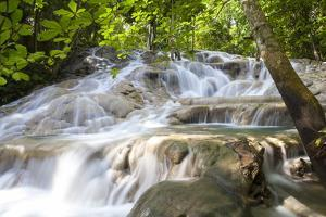 Dunns River Falls, Ocho Rios, Jamaica, West Indies, Caribbean, Central America by Doug Pearson