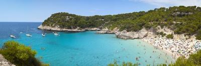Elevated View over the Idyllic Beach of Cala Mitjana by Doug Pearson