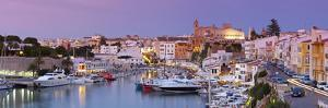 Harbour and Waterfront of Ciutadella, Menorca, Balearic Islands, Spain by Doug Pearson