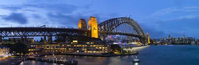 Harbour Bridge, Darling Harbour, Sydney, New South Wales, Australia