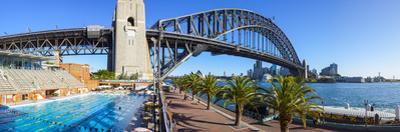 Harbour Bridge, Darling Harbour, Sydney, New South Wales, Australia by Doug Pearson