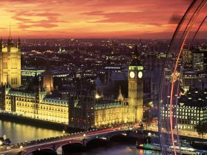 Houses of Parliament, London, England by Doug Pearson