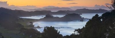 Idyllic Northland Coastline Illuminated at Sunset, Northland, North Island, New Zealand, Pacific by Doug Pearson