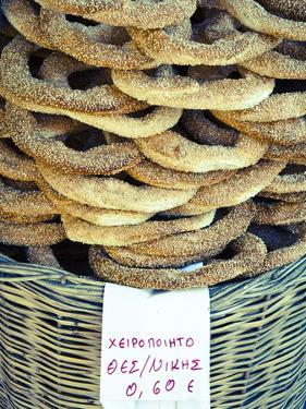 Koulouria (Greek Sesame Bread Rings), Syntagma District, Athens, Greece by Doug Pearson