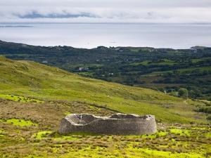 Late iron age Staigue Stone Fort on the Iveragh Peninsula by Doug Pearson