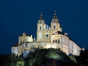 Melk Abbey, Melk, Wachau, Lower Austria, Austria by Doug Pearson