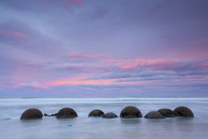 Moeraki Boulders, South Island, New Zealand by Doug Pearson