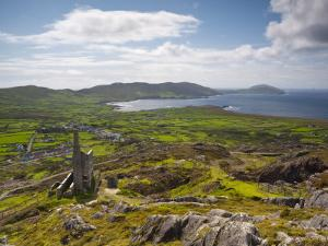 Old Copper Mine, Allihies, Beara Peninsula, Co, Cork and Co, Kerry, Ireland by Doug Pearson