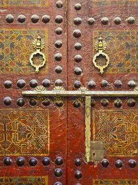 Ornate Door, Sidi Ahmed Tijani Mosque, the Medina, Fes, Morocco by Doug Pearson