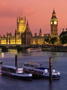 Parliament, London, England by Doug Pearson