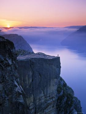Preikestolen, Lysefjorden, Norway by Doug Pearson