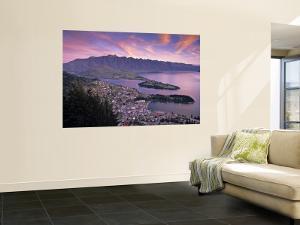 Queenstown, Lake Whakatipu, New Zealand by Doug Pearson