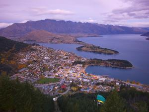 Queenstown, South Island, New Zealand by Doug Pearson