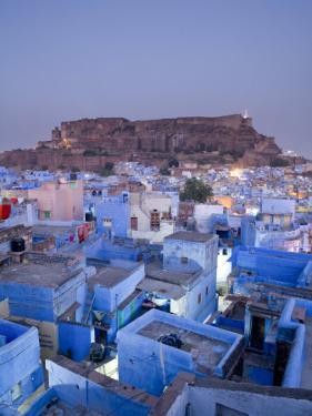 Rooftops, Jodhpur, Rajasthan, India by Doug Pearson