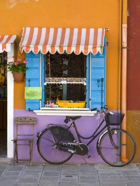 Shop Front, Burano, Venice, Italy by Doug Pearson