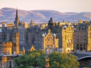 Skyline of Edinburgh, Scotland by Doug Pearson
