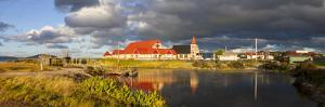 St Faith's Anglican Church at Ohinemutu on Lake Rotorua, North Island, New Zealand by Doug Pearson