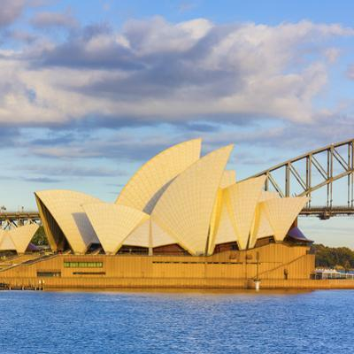 Sydney Opera House & Harbour Bridge, Darling Harbour, Sydney, New South Wales, Australia