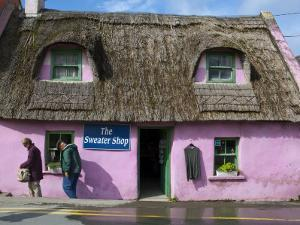 Thatched Handycrafts Store, Doolin, Co Clare, Ireland by Doug Pearson