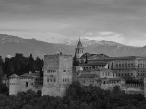 The Alhambra Palace at Sunset, Granada, Granada Province, Andalucia, Spain by Doug Pearson