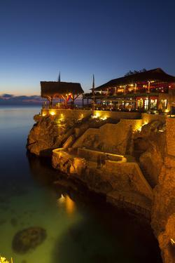 The Famous 'Ricks Cafe', Negril, Jamaica by Doug Pearson